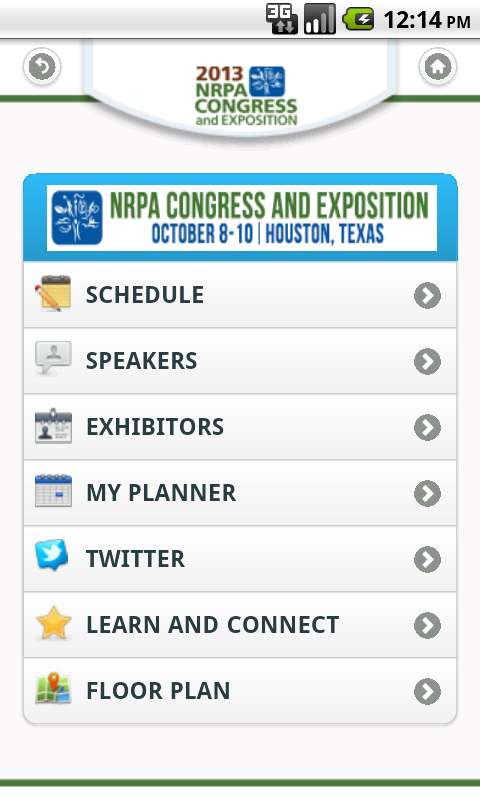 NRPA 2013 - screenshot
