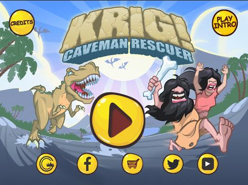 KRIG 穴居人拯救者恐龙逃亡