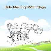 Kids Memory With Flags