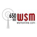 650 AM WSM logo