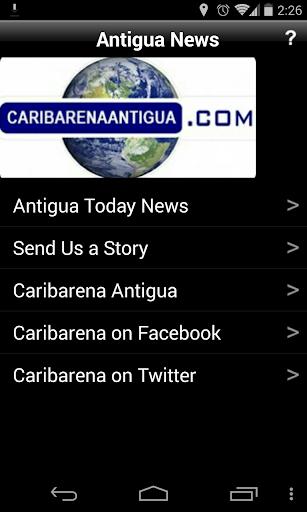 Antigua News Caribarena