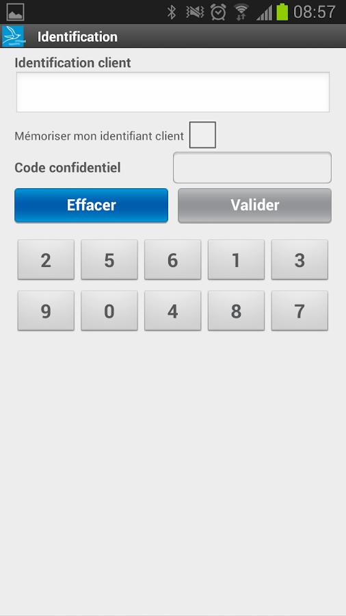 Banque de la Réunion - BRSMART - screenshot