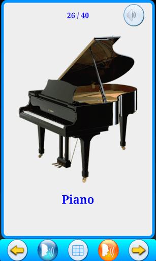 Musical Instruments Cards V2