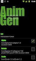Screenshot of AnimGen
