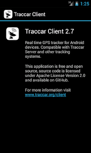 Traccar Client - screenshot thumbnail