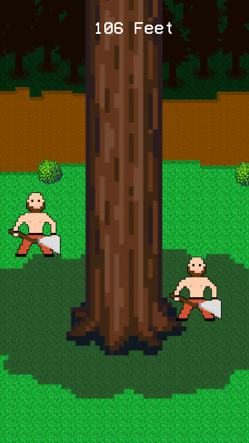 Timbermen vs Tree - screenshot