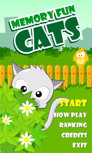 Memory Fun Cats