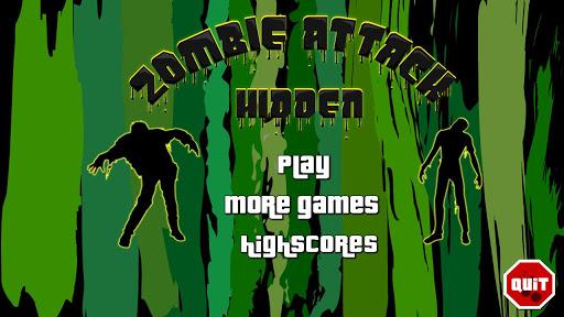 Zombies Hidden Objects