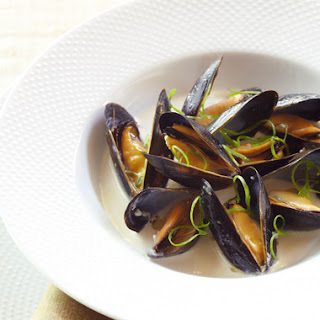 Coconut Lime Mussels.