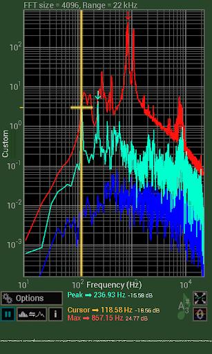 【免費音樂App】Spectrum Analyser-APP點子