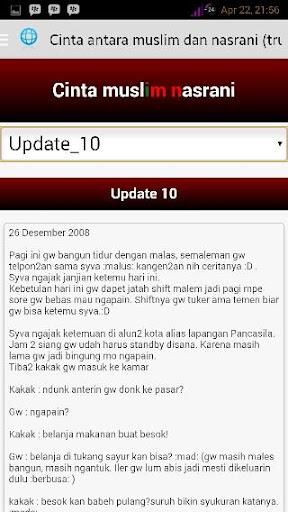 【免費書籍App】Cinta Muslim Nasrani | SFTH-APP點子
