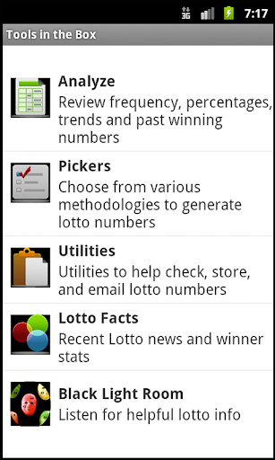 Florida Lotto® Toolkit