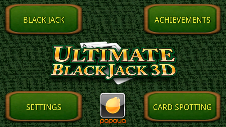 Ultimate BlackJack 3D FREE- screenshot