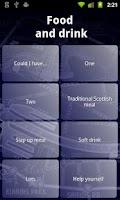 Screenshot of Glasgow Phrasebook