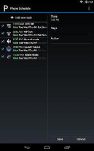 Phone Schedule v1.4.1