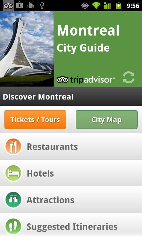 Montreal City Guide screenshot #1