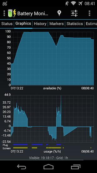 Battery Monitor Widget Pro- screenshot thumbnail