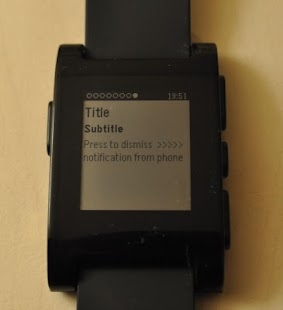 Notification Center for Pebble - screenshot thumbnail