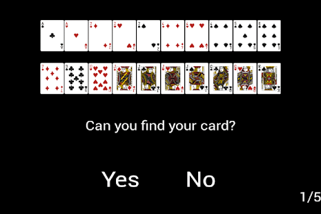 Guess poker card