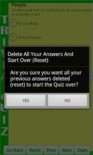 Extreme Trivia Quiz