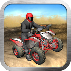 Quad Bike Race Desert Offroad 賽車遊戲 App LOGO-APP試玩