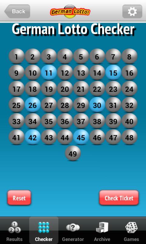 Lotto.net Lottery App - screenshot