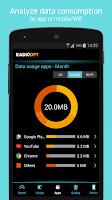 Screenshot of Traffic Monitor & 3G/4G Speed