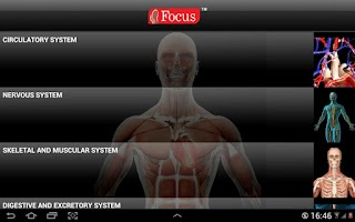 Screenshot of Anatomy Atlas-Junior