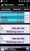 Screenshot of Darts Calculator (Free)