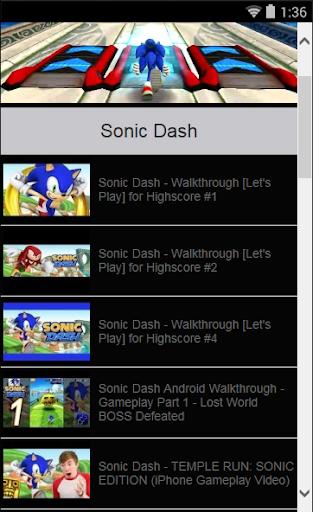 【免費娛樂App】Sonic D Tips and Tricks-APP點子
