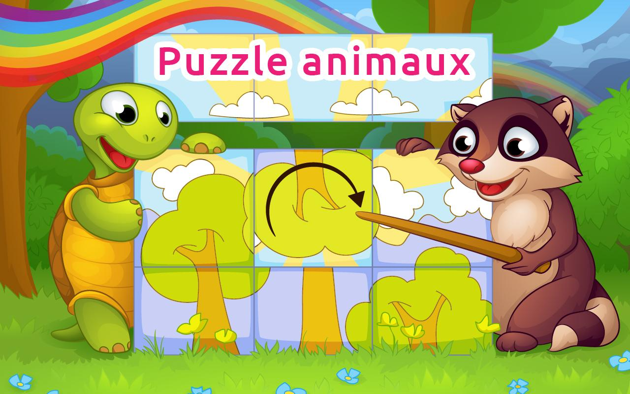 puzzles animaux 5 ans gratuit applications android sur. Black Bedroom Furniture Sets. Home Design Ideas