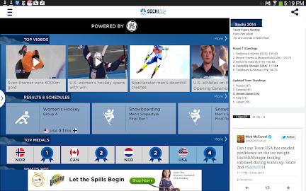 NBC Olympics Highlights Screenshot 7