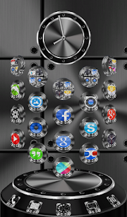 玩個人化App|Next Launcher Theme Metalcraft免費|APP試玩