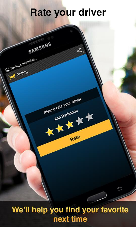 Cab Hound - The Taxi App- screenshot