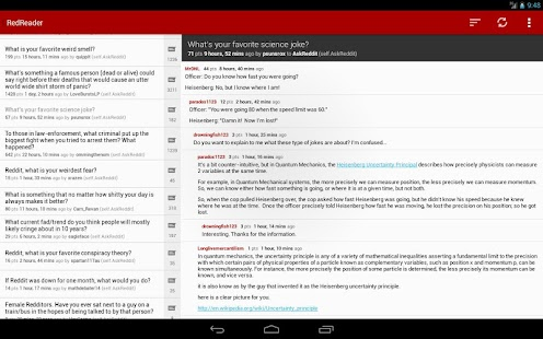 RedReader Beta - screenshot thumbnail