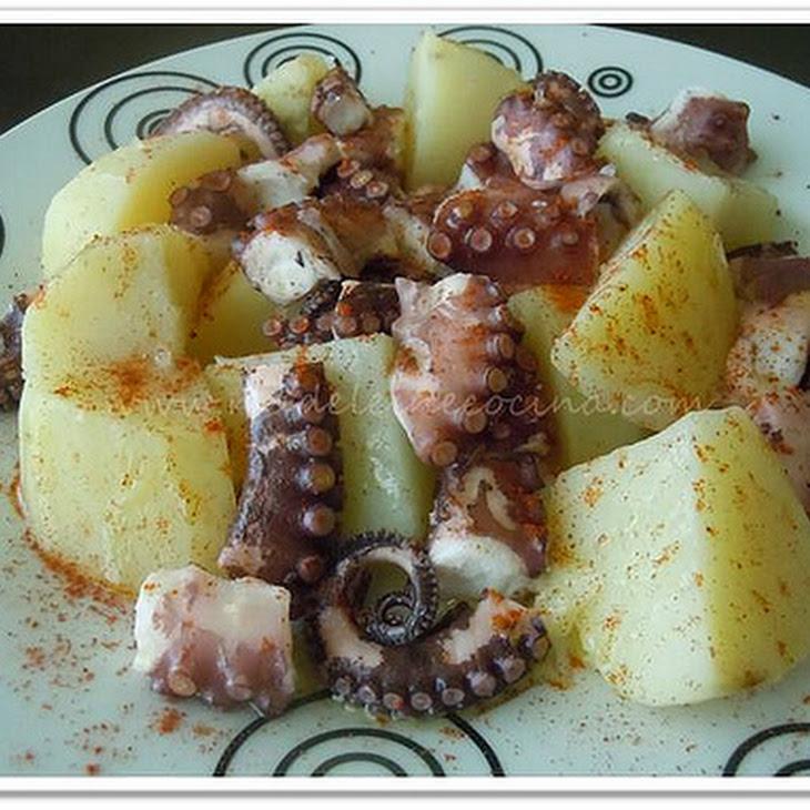 Galician-style Octopus