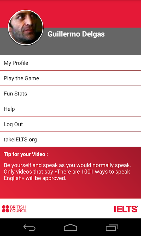 IELTS 1001 ways – Screenshot