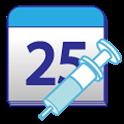 우리아가 예방접종일 - 신생아 건강/질병 관리앱 icon