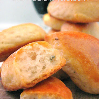 Gorgonzola Crescent Appetizers.
