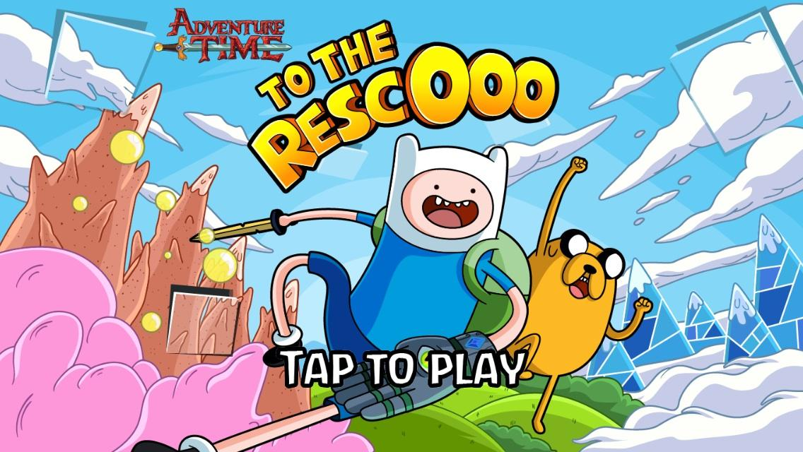 Finn and Jake To The RescOoo- screenshot