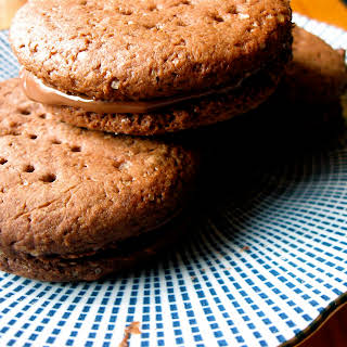 British nutella 'Bourbon' biscuits.