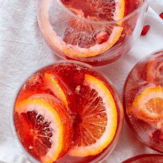 Blood Orange and Pomegranate Sparkling Sangria