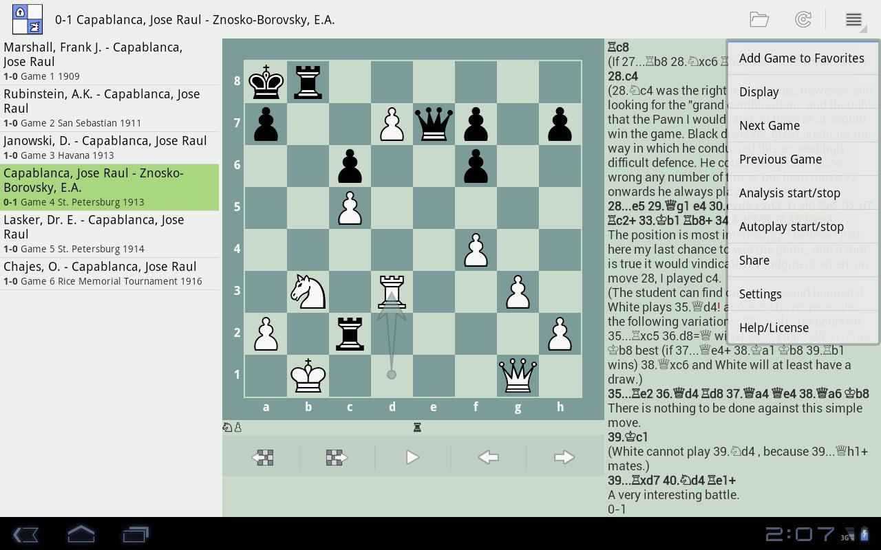 Chess PGN Master - screenshot