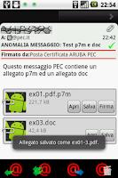 Screenshot of PocketPEC