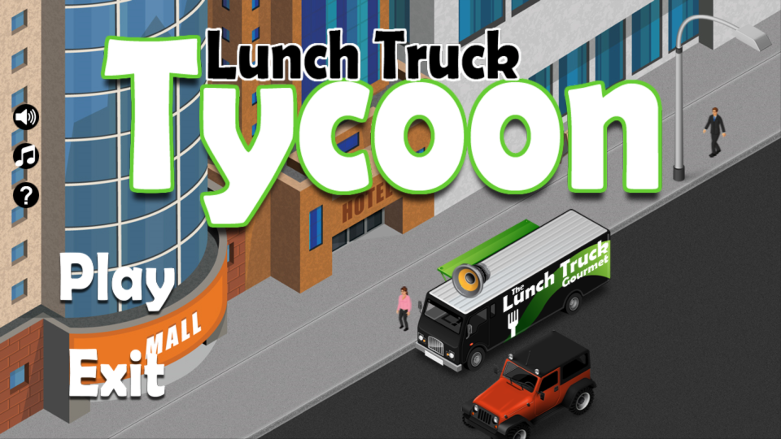 Lunch Truck Tycoon- screenshot