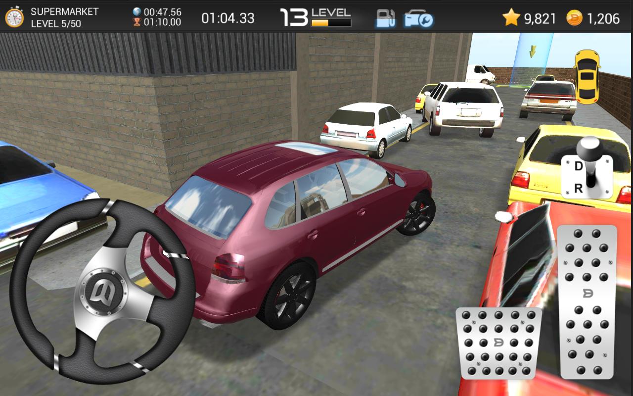 Car Shop Parking Games