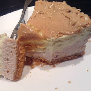 Banana Nut Protein Cheesecake.