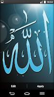 Screenshot of Islamic Live Wallpaper