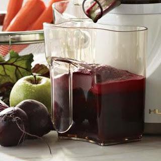 Apple-Beet-Carrot Juice.