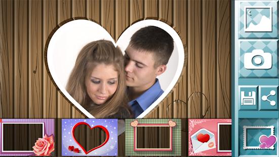 愛情圖片 - 相框